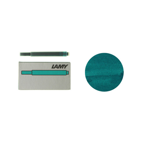 Lamy fountain pen ink cartridges (T10) - special edition 2020 - Tourmaline