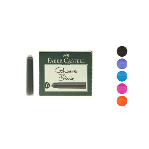 Faber-Castell ink cartridges