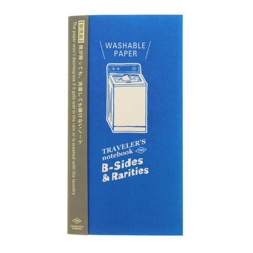 TRAVELER'S notebook B-Sides & Rarities - Washable Paper refill