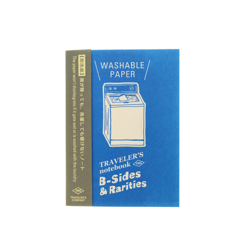 TRAVELER'S notebook B-Sides & Rarities - Washable Paper refill - passport size