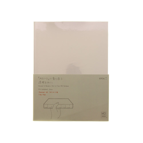 MD Paper CODEX notebook cover - CLEAR - A5