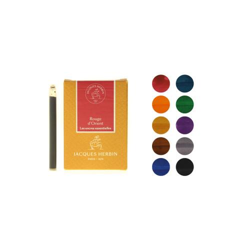 Jacques Herbin fountain pen ink cartridges - Les Essentielles