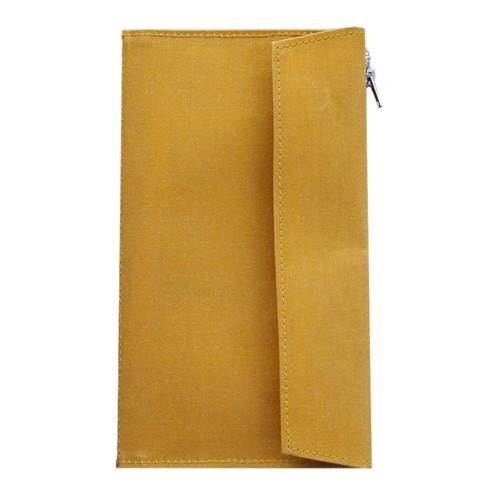 TRAVELER'S FACTORY - Paper Cloth Zipper - mustard