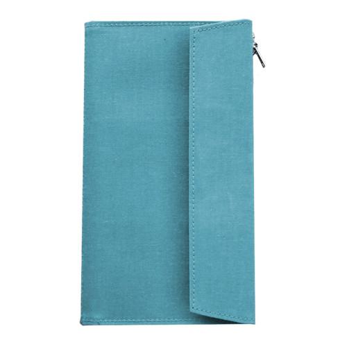 TRAVELER'S FACTORY - Paper Cloth Zipper - sky