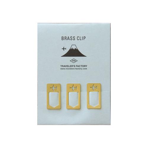 TRAVELER'S FACTORY Brass Clip