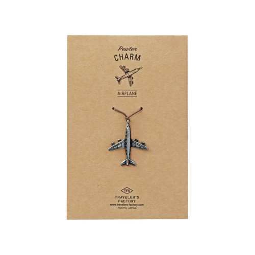 TRAVELER'S FACTORY Pewter Charm - Airplane