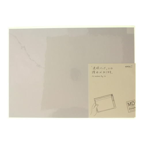MD Paper notebook bag - CLEAR - A4