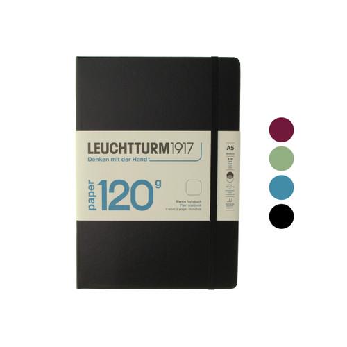 Leuchtturm1917 notebook - 120gsm- A5 BLANK