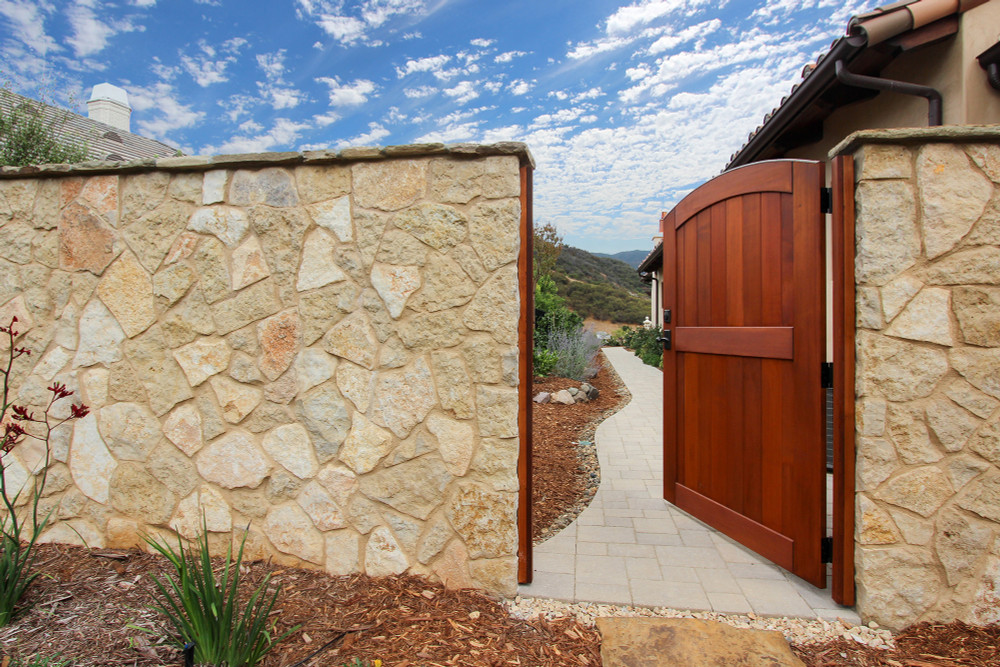 "Easy-Install Wood Gate,  Signature 42"" wide x 70"" tall"