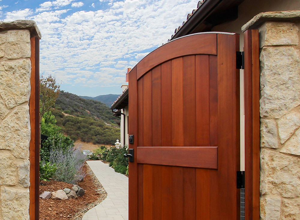 """Easy-Install Wood Gate,  Signature 42"""" wide x 70"""" tall"""
