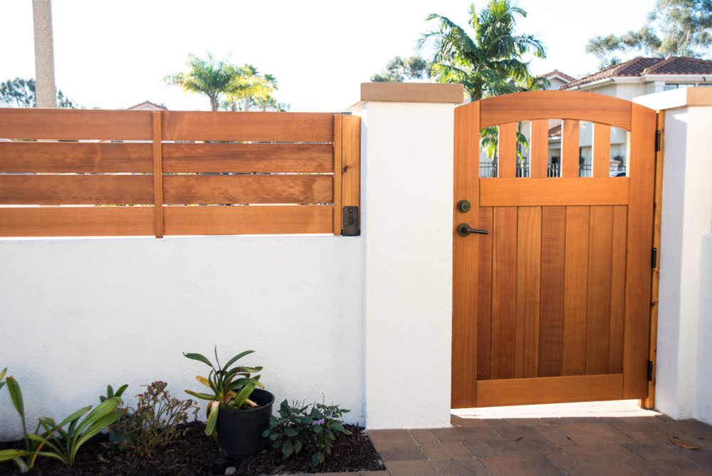 """Easy-Install Wood Gate,  Rose City 42"""" wide x 70"""" tall"""