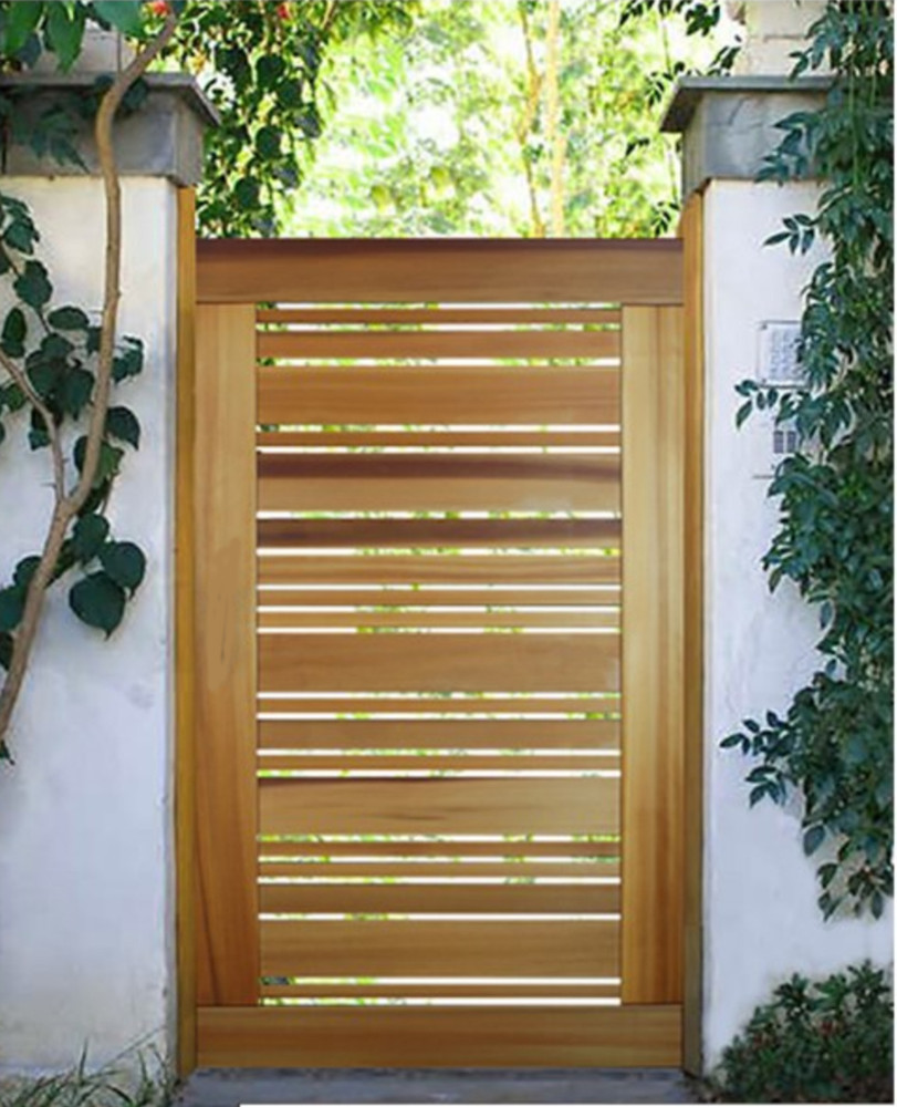 "Easy-Install Wood Gate, Monterey 42"" wide x 70"" tall"