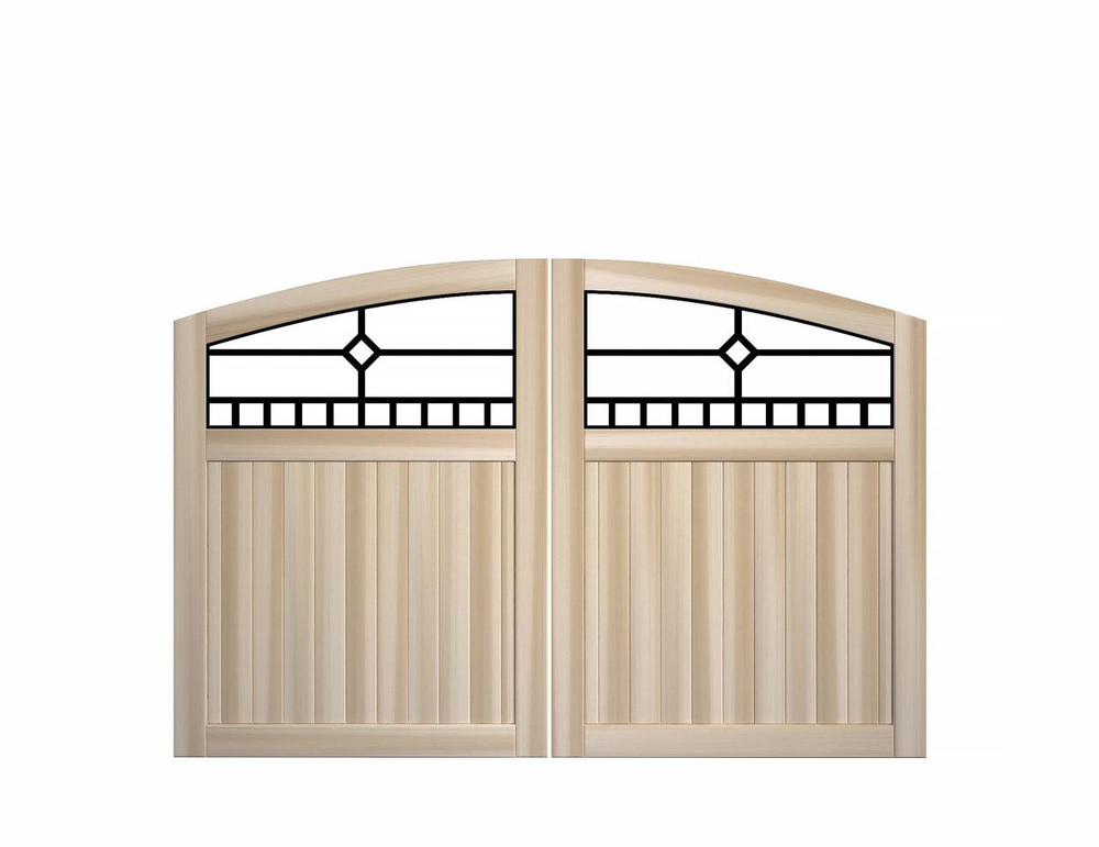 Craftsman Double Gate Panels