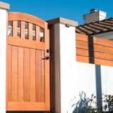 Classic Easy-Install Rose City Wood Gate