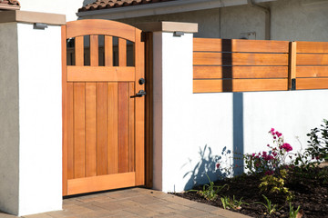 Select Easy-Install Rose City Wood Gate