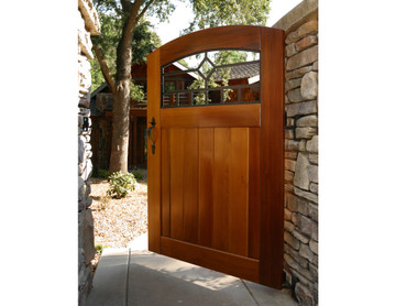 Craftsman Custom Size Gate, PreHung With Hardware