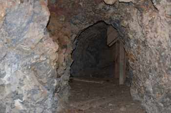 Wooden Shute inside Mine - #224