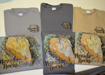 Nevada Rocks T-Shirt - Short Sleeve