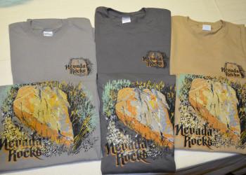 Nevada Rocks T-Shirt - Short Sleeve