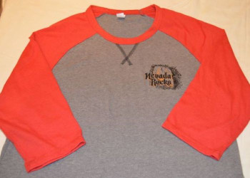 Nevada Rocks T-Shirt - Mid Sleeve, Light Weight