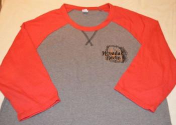 Nevada Rocks T-Shirt - Mid Sleeve, Light Weight