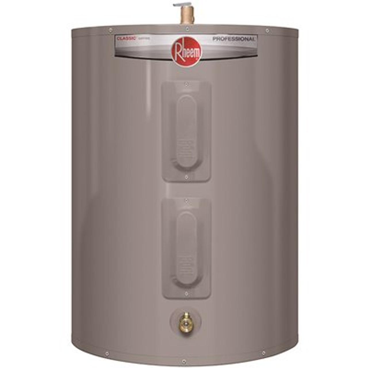 Rheem Professional Classic 47 Gal. 4500-Watt Short Residential Electric Water Heater Item # 3554562|Rheem Part # PROE47 S2 RH95|UPC Code 020352691800