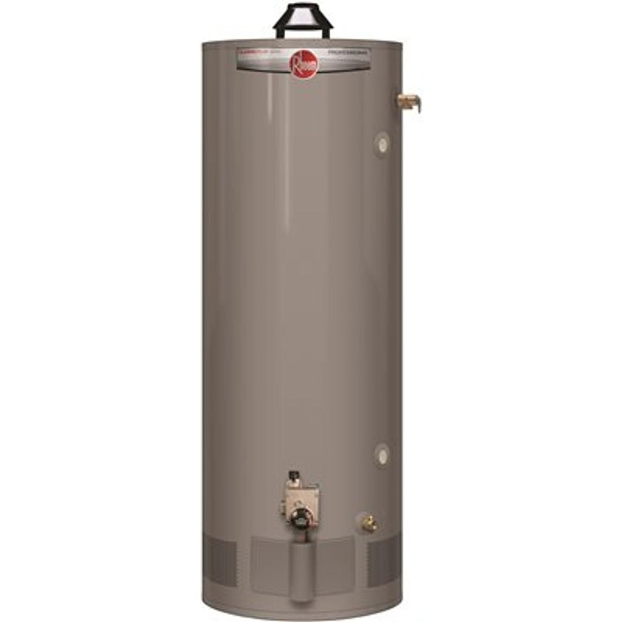 Rheem Pro-Classic Plus 50 gal. Tall 8-Year Warranty Residential Natural Gas Water Heater - Item # 3576806, Rheem Part # PRO+G50-40N RH62, UPC Code 020352630588