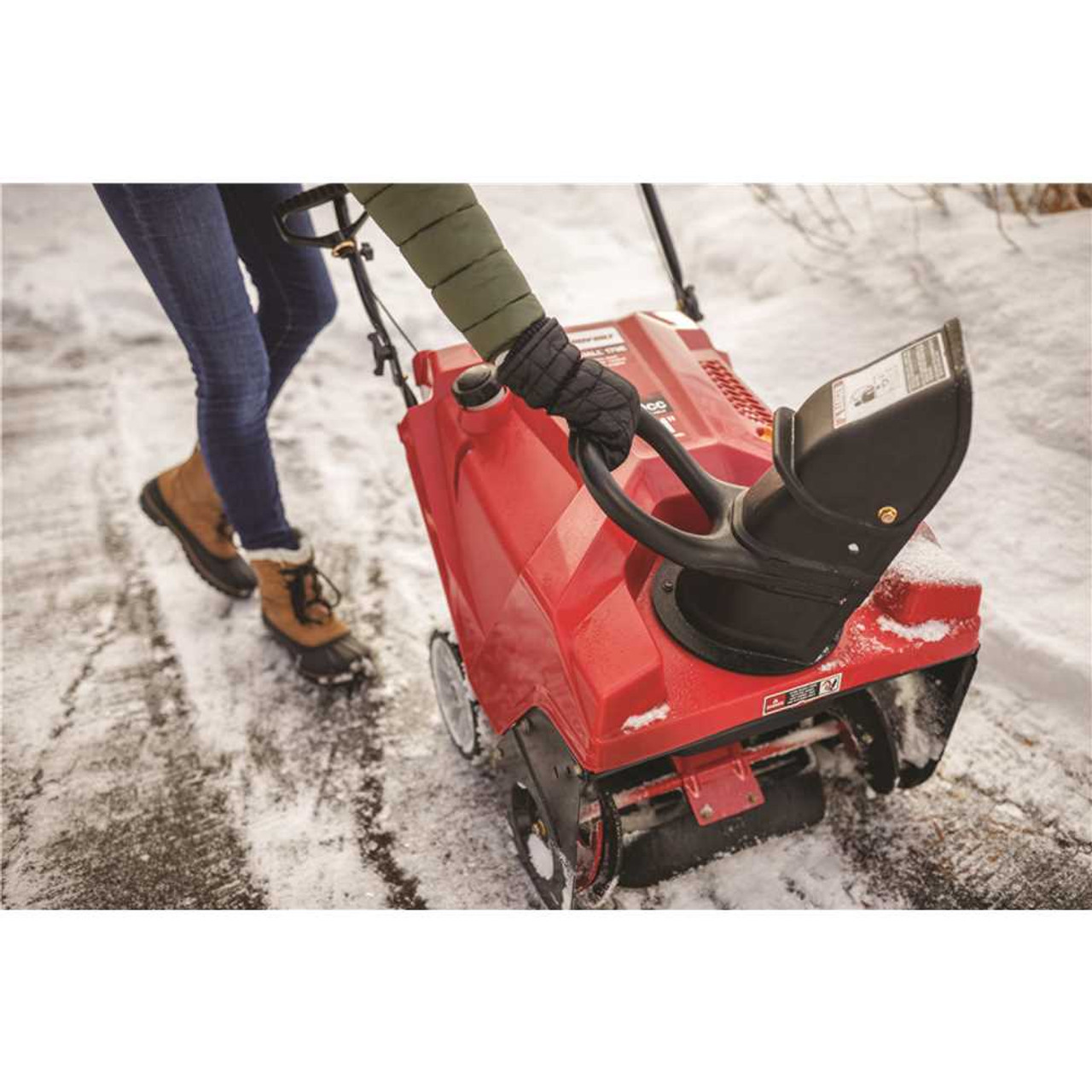 Troy-Bilt Squall 21 in. 179 cc Single-Stage Gas Snow Blower with Electric Start and E-Z Chute Control - Item # 310591835, Troy-Bilt Part # Squall 179E, UPC Code 043033589784