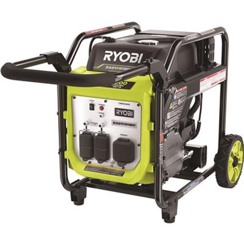 RYOBI 4000-Watt Gasoline Powered Digital Inverter Generator Item # 308737029|RYOBI Part # RYi4022X|UPC Code 046396024183