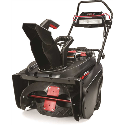 Legend Force 22 in. Single-Stage Gas Snow Blower w/ Electric Start and Headlight Item # 313380216|Legend Force Part # 1697350|UPC Code 047282769874|UNSPSC Code 22101531