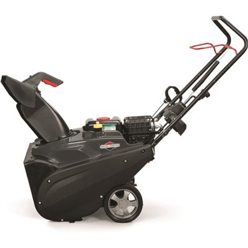 Briggs & Stratton 22 in. 208 cc Single-Stage Gas Snowthrower with Electric Start Featuring Snow Shredder Auger Item # 314006529|Briggs & Stratton Part # 1697292|UPC Code 047282761816|UNSPSC Code 22101531