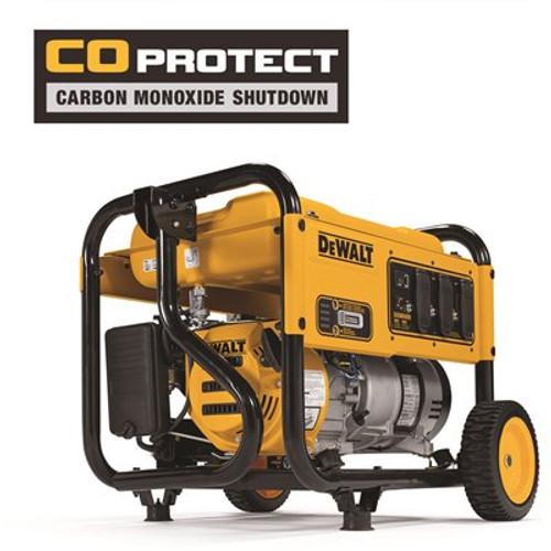 DEWALT 4,000-Watt Gasoline Powered Manual Start Portable Generator with Premium Engine, Covered Outlets and CO Protect Item # 307566550 DEWALT Part # DXGNR4000 UPC Code 696471075809