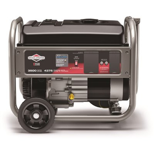 Briggs & Stratton Home 3500-Watt Recoil Start Gasoline Powered Portable Generator with B&S OHV Engine Featuring CO Guard Item # 312560869 Briggs & Stratton Part # 030736 UPC Code 011675307363