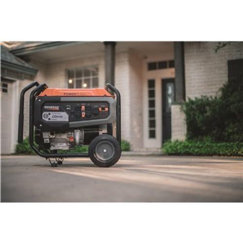 Generac 6500-Watt Manual Start Gasoline Powered Portable Generator with CO-Sense 50/CSA Item # 317236931 Generac Part # G0076831 UPC Code 696471085020