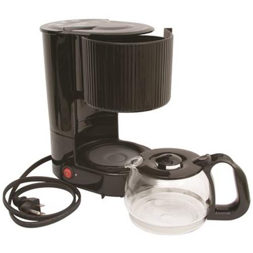 RDI-USA 4-cup coffee maker with carafe in black Item # 3571306|RDI USA, INC. Part # COFF-MK4|UPC Code 609132999857