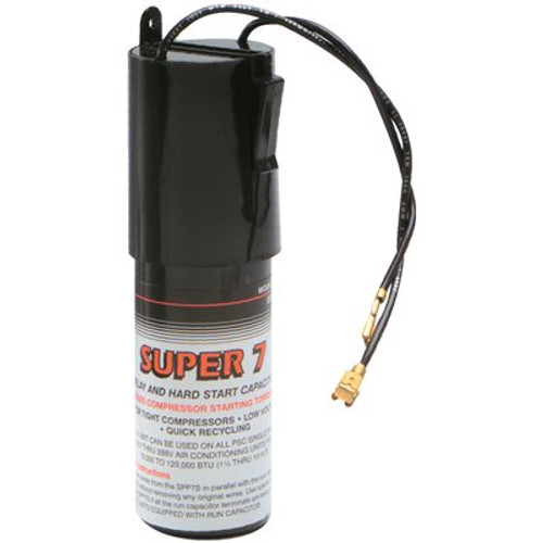 SUPCO Super Boost Starter 1/2 HP to 10 HP Increases Starting Torque 600%,  Item # 661396, SUPCO Part # SPP7S, UPC Code 687152031566