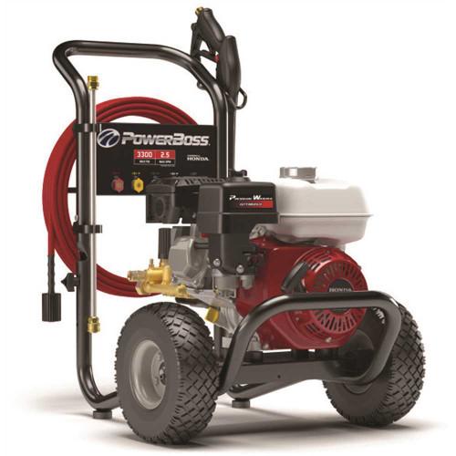 PowerBoss 3300 PSI, 2.4 GPM Cold Water Gas Pressure Washer with Honda Engine - Item # 3583827, PowerBoss Part # 020726, UPC Code 011675207267
