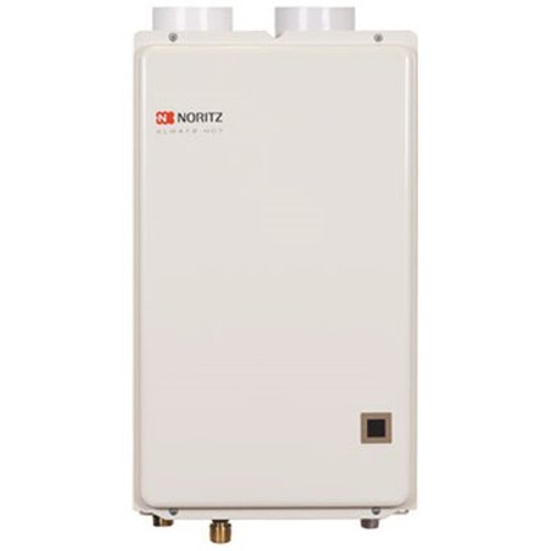 NORITZ Indoor Condensing (Direct Vent) 6.6 GPM 120,000 BTU Natural Gas, Gas Residential Tankless Water Heater Item # 296810, NORITZ Part # NRC661-DV-NG, UPC Code 817000012885