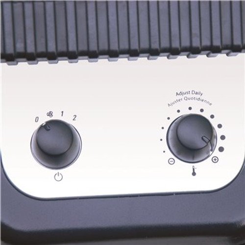 Air King 1,500-Watt Ceramic Portable Heater with Adjustable Thermostat - Item # SX-0463415, Air King Part # 8945C, UPC Code 046013770592