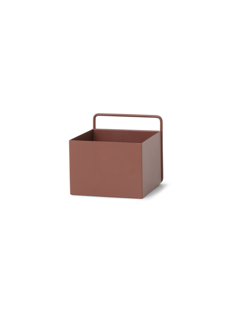 Wall Box - Red Brown - Square