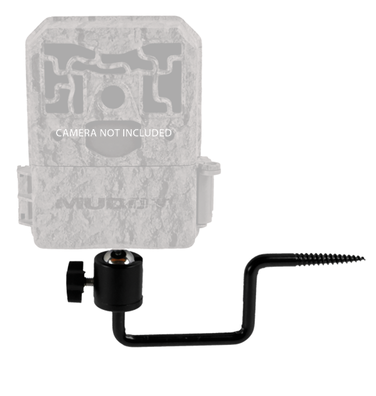 MUDDY Adjustable Trail Camera Support with trail cam