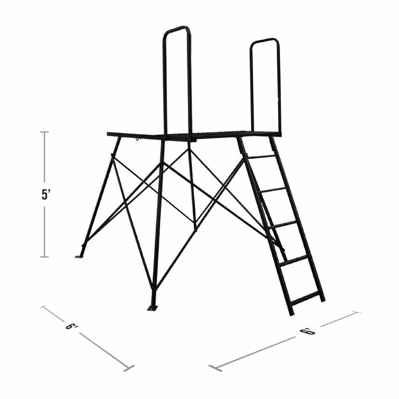Deluxe 5' Tower Dimensions