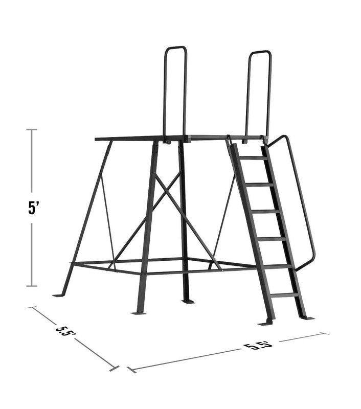 Elite 5' Tower Dimensions