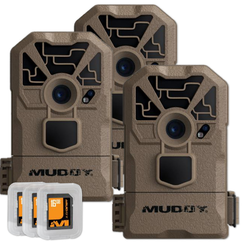 Muddy MTC100 Trail Camera 3 Pack
