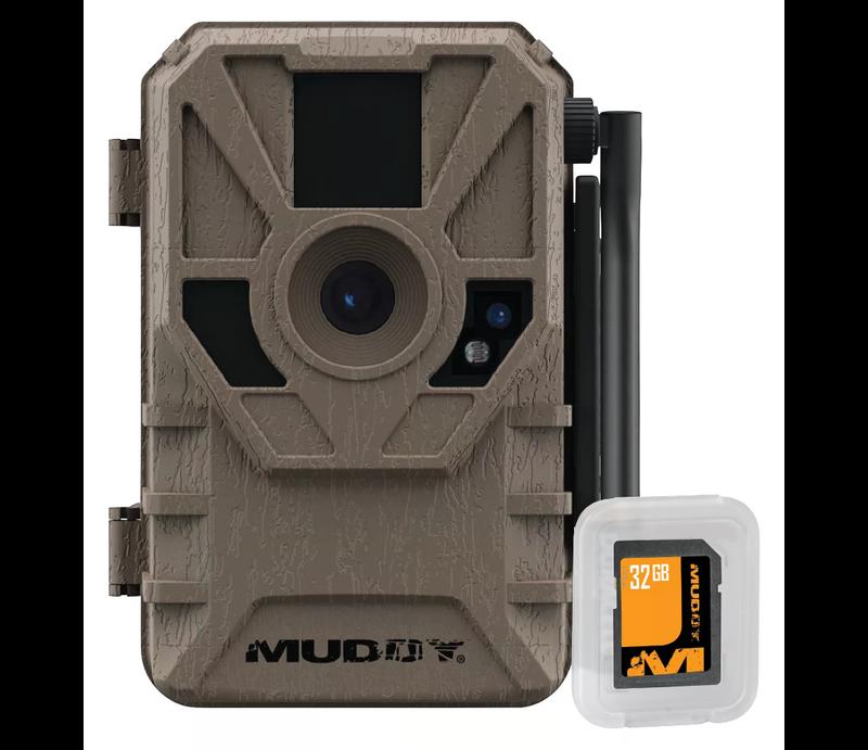 muddy manifest cellular trail camera 32 gb sd card combo