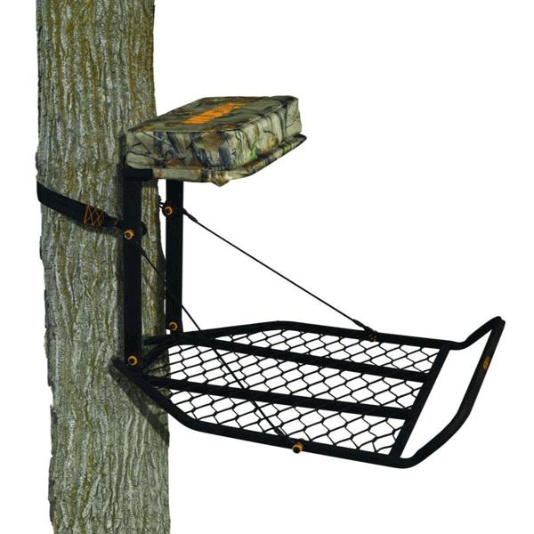 Muddy Outdoors Boss XL Plus Hang On Treestand-Black