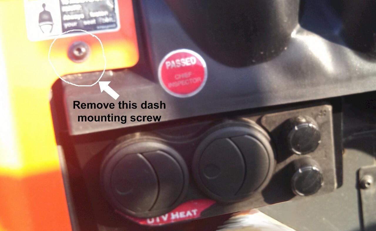 Ice Crusher Compact Cab Heater for Kubota RTV900