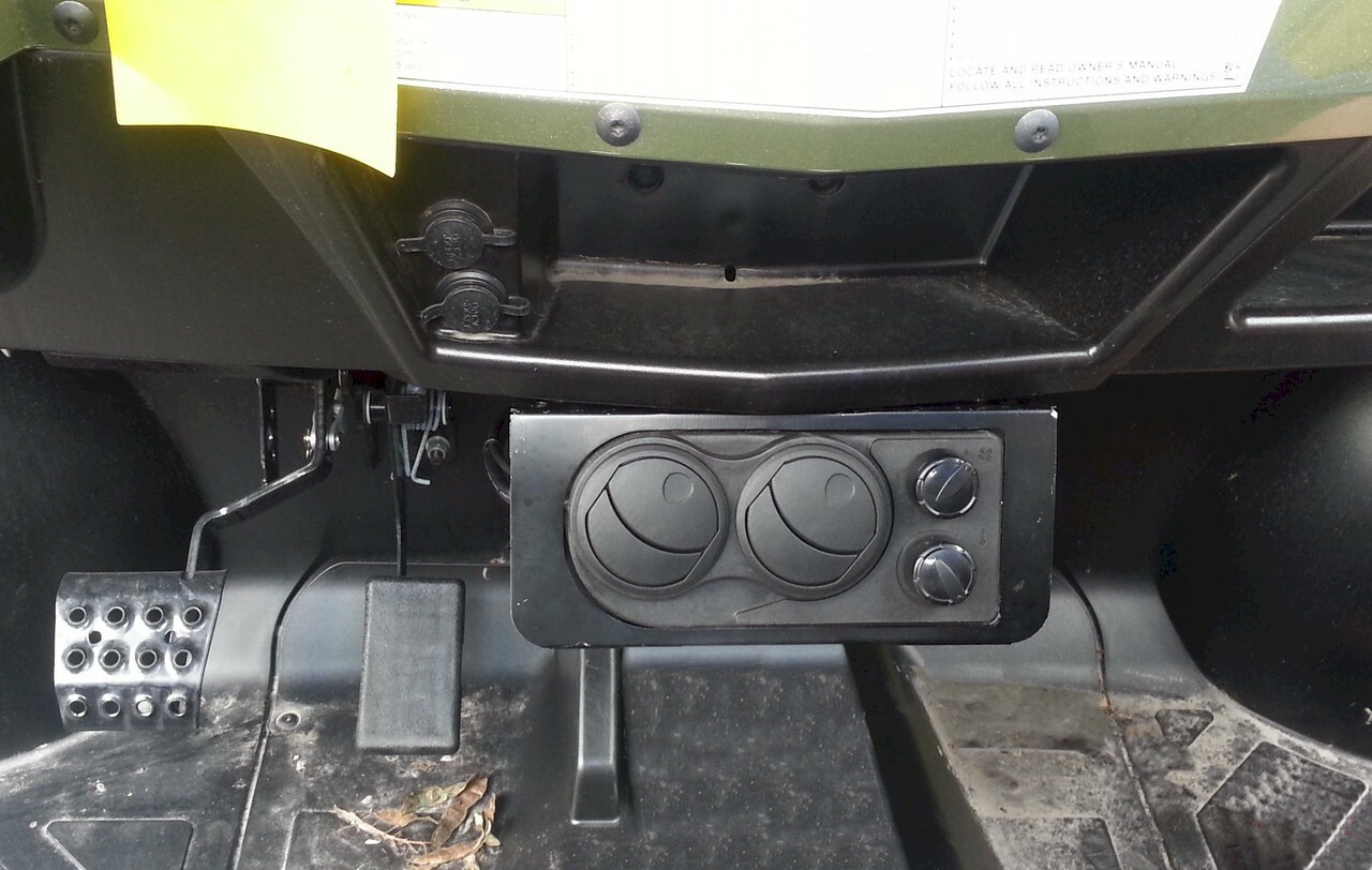 Ice Crusher Cab Heater for '09-13 Polaris Ranger and '10-14 Ranger Crew (Full Size)