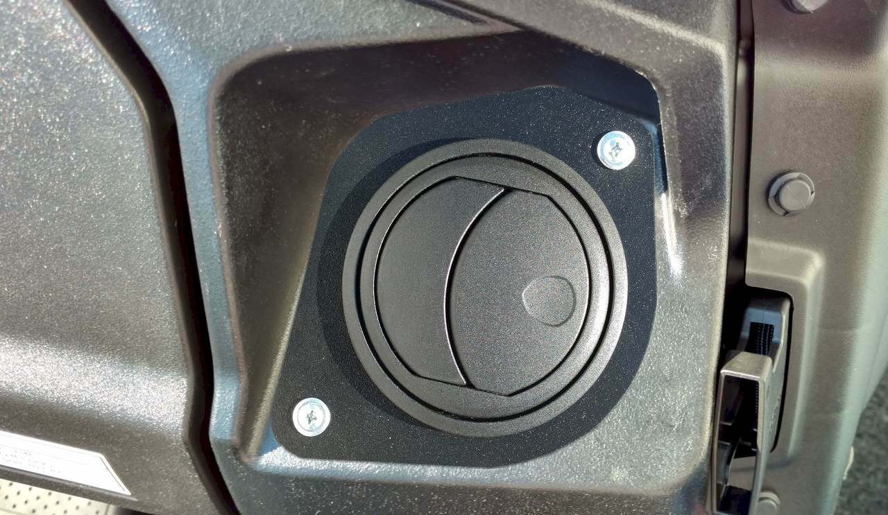 Ice Crusher Cab Heater for Honda Pioneer 1000