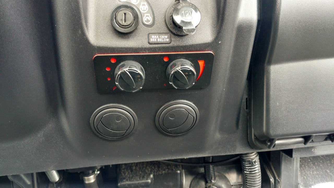 Kubota RTV-X900 - Ice Crusher Cab Heater